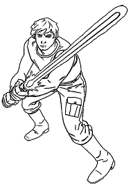 star wars luke skywalker coloring pages inside page omeletta me