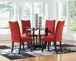 dining table with rug underneath red dining room set createfullcircle com