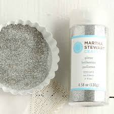 martha stewart crafts white gold fine glitter glitter basic
