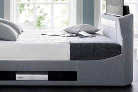 kaydian maximus tv bed and soundbar beds on legs