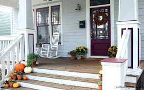 interior artistic front porch design ideas brown brick exterior