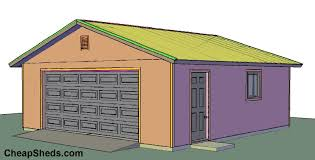 how to build and frame a 1 2 3 4 car garage plans u0026 blueprints