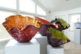 Chihuly Vase Chihuly Glass Art On Display In Remsenburg Home Remsenburg 27east