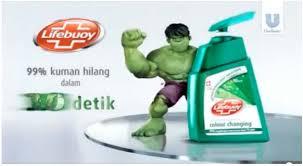 Sabun Lifebuoy sibeloy iklan sabun lifebuoy tilkan figure