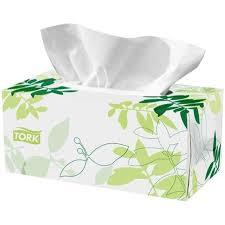box of tissue paper tork premium soft tissues 2 ply 2170303 box of 224