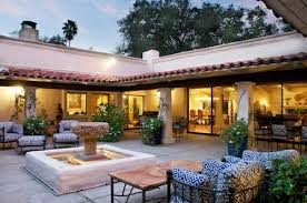 cliff may hacienda style homes gorgeous open courtyard large
