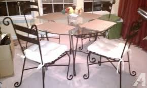 wrought iron tables for sale dining kitchen table pier 1black wrought iron glass scroll