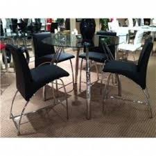 counter height round pub table foter