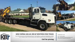 for sale copma 450 4j4 knuckleboom concrete form handling truck