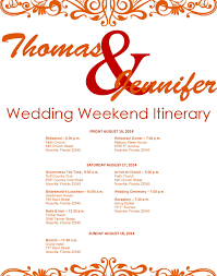 wedding itinerary template wedding itinerary template 1 for free tidyform