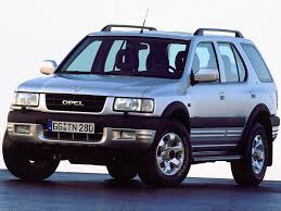 you don u0027t need roads when you have opel frontera