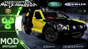 land rover bowler land rover bowler nemesis need for speed most wanted 2005 car mods