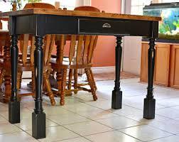 Farm House Kitchen Table by Farmhouse Kitchen Island Etsy