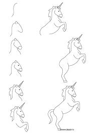 les 25 meilleures idées de la catégorie dessin licorne sur