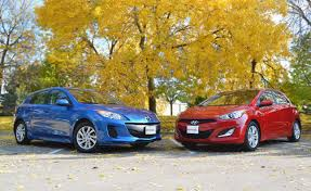 hyundai elantra 2013 vs 2014 2013 mazda3 hatchback vs 2013 hyundai elantra gt car reviews