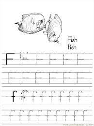 alphabet abc letter f fish coloring pages 7 com coloring page