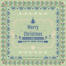 merry christmas and happy new year card christmas lights card