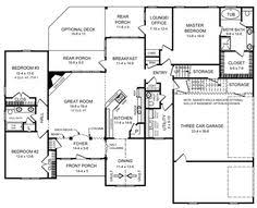 Cape Cod House Plans With First Floor Master Bedroom One Story 40x50 Floor Plan Home Builders Single Story