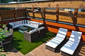 roof deck furniture deks decoration