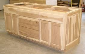 Unfinished Kitchen Islands Kitchen Island Cabinet Base Unfinished Kitchen Island Base With