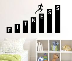 online get cheap wall decals designs aliexpress com alibaba group fitness gym wall decal vinyl sticker art decor bedroom design mural interior decoration living room bedroom