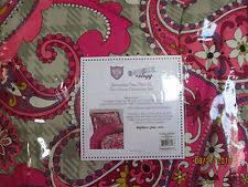Vera Bradley Twin Comforter Vera Bradley Comforter Set Full Queen Plaid Meets Paisley Ebay