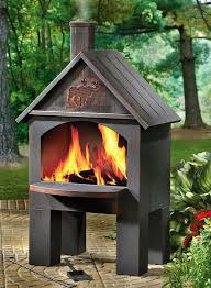 Chiminea Outdoor Fireplace Clay - best 25 chiminea fire pit ideas on pinterest stainless steel