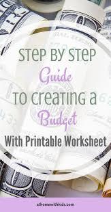 Kiplinger Budget Worksheet 70 Best Financial Images On Pinterest Money Tips Money Budget