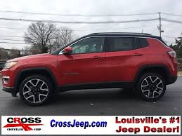 jeep compass limited red new 2018 jeep compass limited sport utility in louisville a9597
