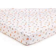 breathablebaby super dry cot bed sheets 2 pack enchanted forest