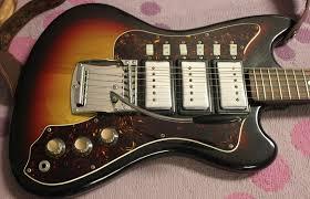 1968 supro lexington 3 pickup electric guitar u2013 drowning in guitars