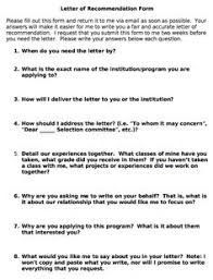 sample letter of recommendation things to make pinterest