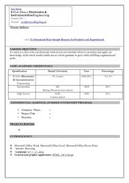Sample Resume Formats For Freshers by The Format Of A Resume Sap Abap Developer Resume Format Hybrid