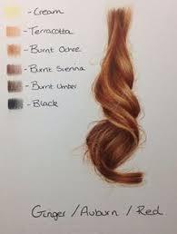 how to paint hair in oils by australian artist rose miller of