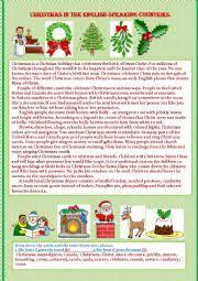 english worksheets english speaking countries worksheets page 7