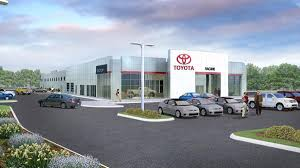 toyota dealer toyota dealership joins uptick of development near i 94 in mount