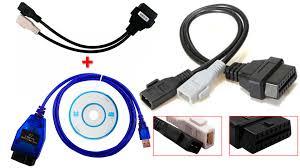vag com cable audi diagnostically cable kkl vag com 409 1 and adapter for audi 80 b4