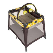 Graco Pack And Play With Bassinet And Changing Table Pack N Play Playard Nimble Nook Brown Lime