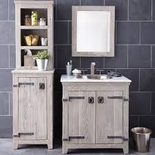 30 Inch Bathroom Vanity Cabinet by 30 Inch Americana Vanity Suite In Driftwood Native Trails