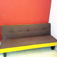 3 seat foldable sofa ikea baby cot infant qatar living