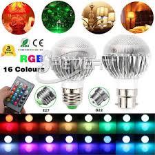 color changing flood light bulb 5w e27 b22 rgb color changing led bulb spot flood light l