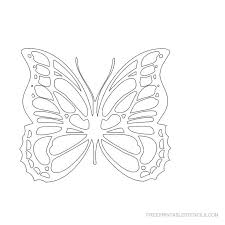 25 best butterfly stencils images on butterfly stencil
