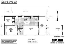 Springs Floor Plans by Silver Springs 4893 By Skyline Homes