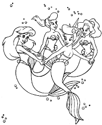 coloring pages of the little mermaid the little mermaid 49 animation movies u2013 printable coloring pages
