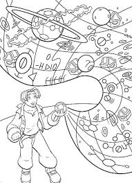 treasure planet coloring pages coloringpages1001