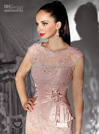 of the gowns sheath pink of the dresses cap sleeve appliques