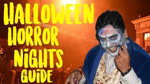 twitter halloween horror nights how to survive halloween horror nights 2017 hhn prep youtube