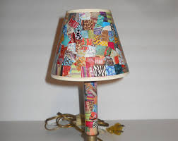 colorful lamps etsy