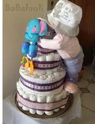 diaper cake full baby standing diaper cake babalooli