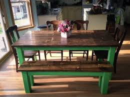 Best Emmor Kitchen And Dining Images On Pinterest Farmhouse - Green kitchen table